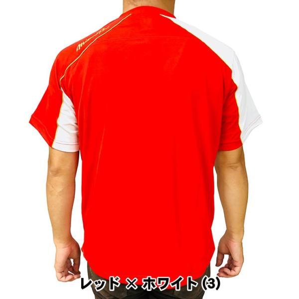 ミズノプロ 九州限定 半袖 Tシャツ ベースボールシャツ 夏用 メンズ 12JA6T01型 スポーツウェア 大きいサイズ mizuno pro|baseballparkstandin|09