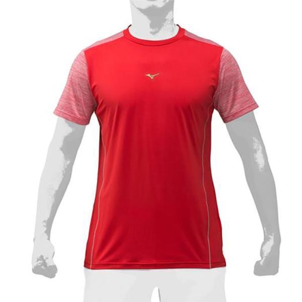 2019モデル ミズノプロ 限定 Tシャツ 半袖 夏用 メンズ 12JA9T52 スポーツウェア 大人 大きいサイズ mizuno pro|baseballparkstandin|05