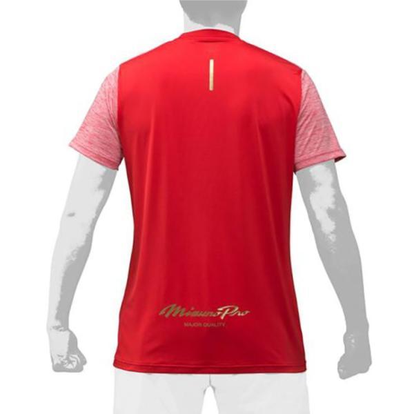 2019モデル ミズノプロ 限定 Tシャツ 半袖 夏用 メンズ 12JA9T52 スポーツウェア 大人 大きいサイズ mizuno pro|baseballparkstandin|06