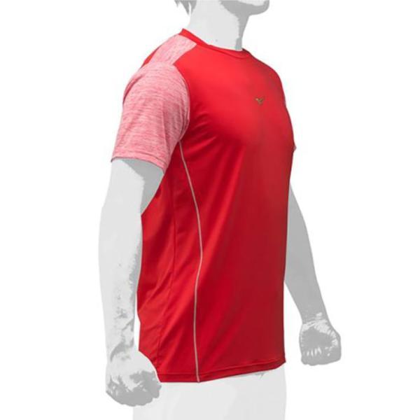 2019モデル ミズノプロ 限定 Tシャツ 半袖 夏用 メンズ 12JA9T52 スポーツウェア 大人 大きいサイズ mizuno pro|baseballparkstandin|07