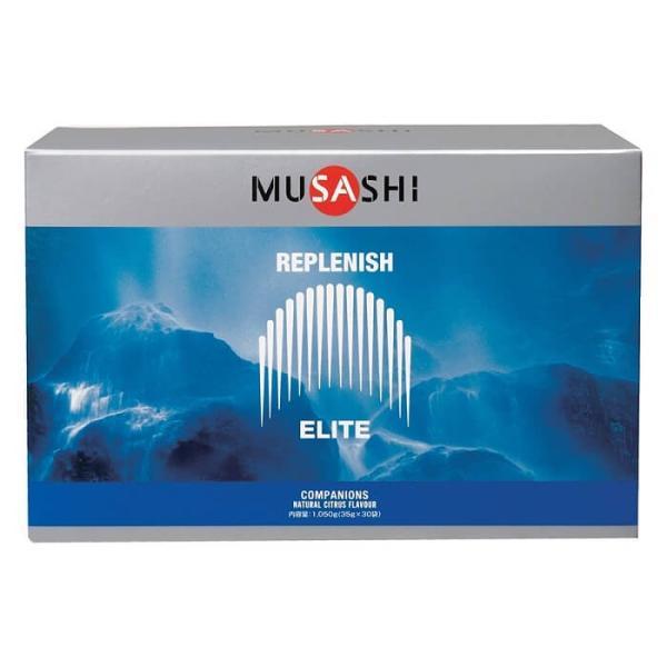 MUSASHI 多機能ドリンク REPLENISH(リプレニッシュ) 35g×30袋入り 熱中症対策 スポーツドリンク 水分補給 ムサシ