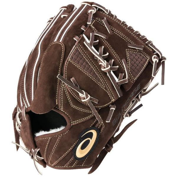 アシックス 硬式グラブ 投手用 3121A294 大谷モデル ヌバック ゴールドステージ  高校野球 ネーム刺繍サービス 日本製 baseballts 02