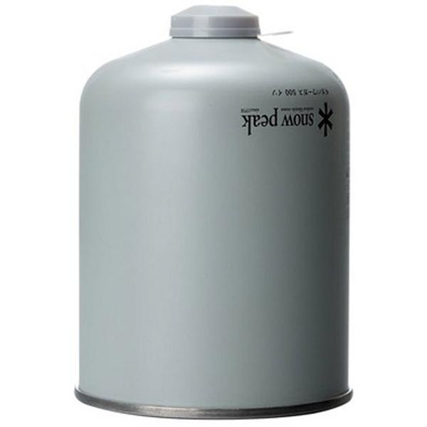 スノーピーク GP-500SR ギガパワーガス500イソ/アウトドア用ガスOD缶|basecamp-jp