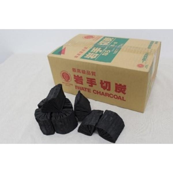ユニフレーム 岩手切炭 3kg箱入 / キャンプ アウトドア木炭