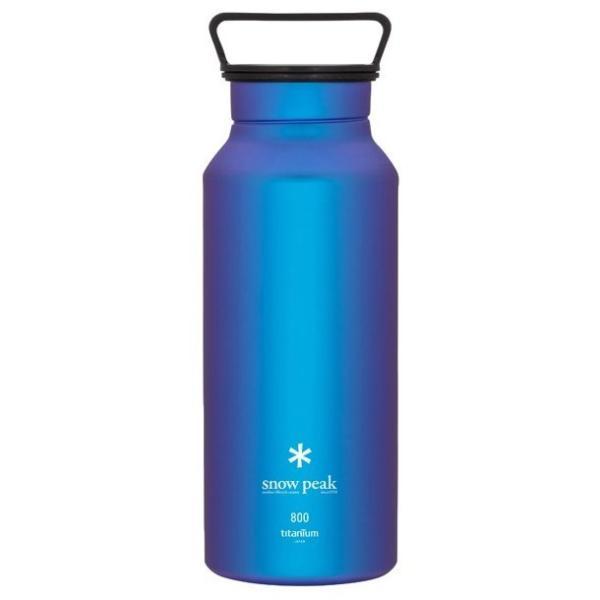 スノーピーク オーロラボトル 800 (TW-800) / キャンプ 登山 テーブルウェア チタン 水筒 美しい