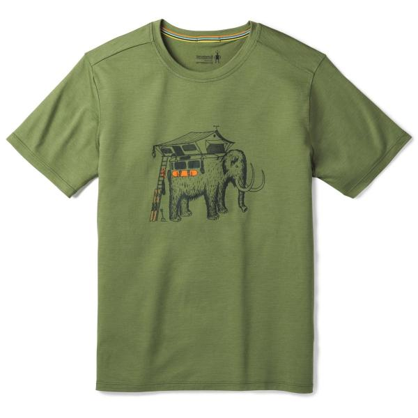 スマートウール メンズ メリノ150モバイルマンモスティー/アウトドアウェア Tシャツ トップス basecamp-jp