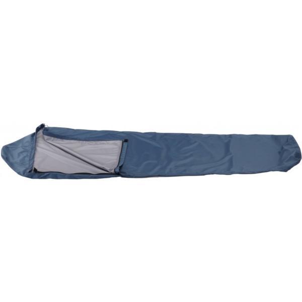 イスカ ウェザーテックシュラフカバー スーパーライト ネイビーブルー / アウトドア 寝袋カバー