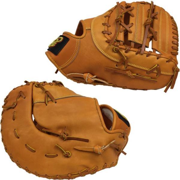 あすつく 限定 ドナイヤ 野球 硬式 ファーストミット 一塁手 Fミット 革ソフト使用可 Donaiya DJF don18fw|baseman|03