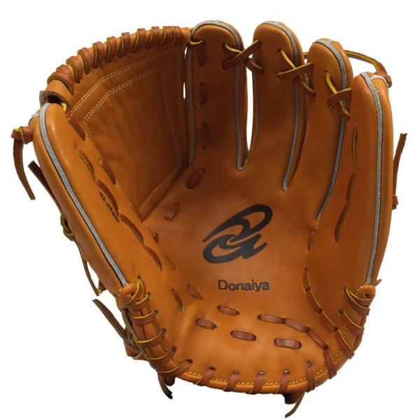 あすつく 限定 ドナイヤ 野球 軟式 グラブ 投手用 大 ピッチャー用 サイズ9 ゴムソフト使用可 Donaiya DJNP don18fw|baseman|02