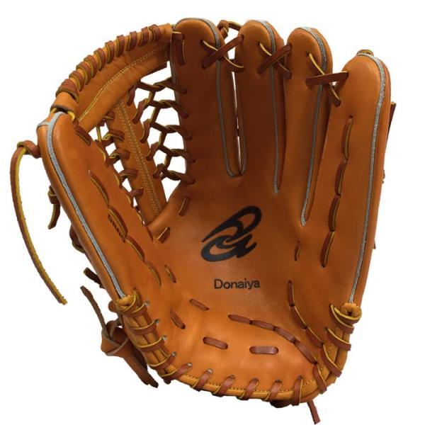 あすつく 限定 ドナイヤ 野球 軟式 グラブ 外野用 ネットウェブ サイズ12 ゴムソフト使用可 Donaiya DRNO don18fw|baseman|02