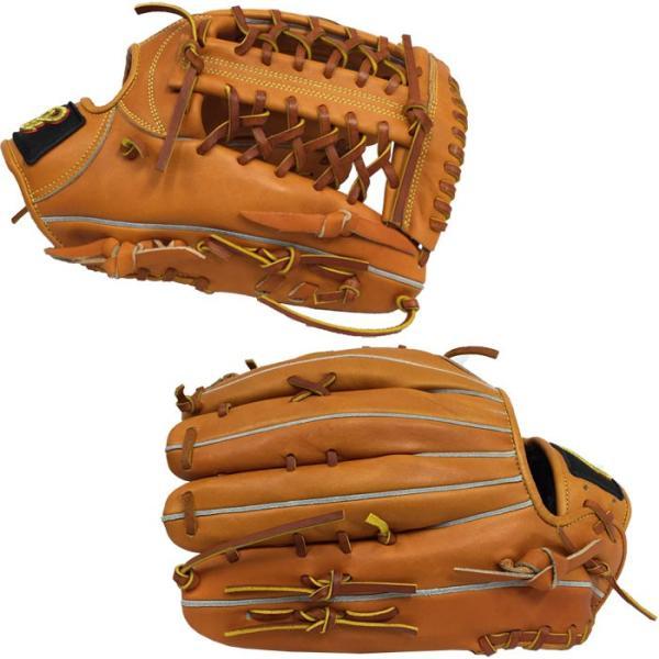 あすつく 限定 ドナイヤ 野球 軟式 グラブ 外野用 ネットウェブ サイズ12 ゴムソフト使用可 Donaiya DRNO don18fw|baseman|03