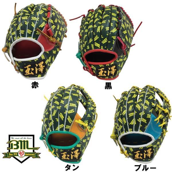 あすつく 超限定 Bm40周年記念 ベースマン タマザワ オリジナル グラブ オールラウンド Bm総柄 右投用 bm40th baseman