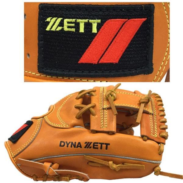 あすつく Bm40周年記念 超限定 復刻 ゼット DYNA ZETT 野球 軟式用 グラブ スクエアラベル ZPG-B zet18ss bm40th|baseman|08