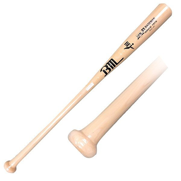 あすつく Bmオリジナル 野球用 硬式 木製 バット ハードメイプル グラスファイバー BFJマーク ベースマン BM1 bm16ss woodbat|baseman