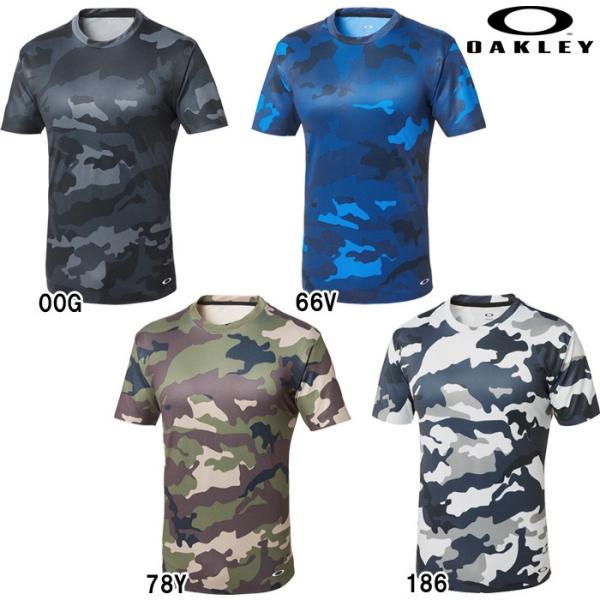 あすつく クリアランス 限定 OAKLEY オークリー ストレッチ Tシャツ カモフラ 3RD-G SS O-FIT TEE 1.7 457470JP oak18fwcl|baseman