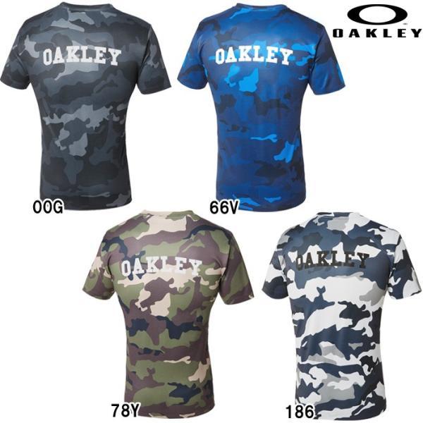 あすつく クリアランス 限定 OAKLEY オークリー ストレッチ Tシャツ カモフラ 3RD-G SS O-FIT TEE 1.7 457470JP oak18fwcl|baseman|02