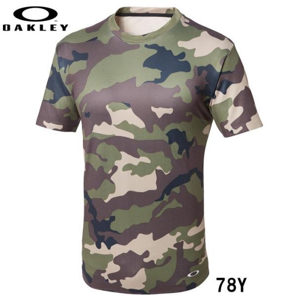 あすつく クリアランス 限定 OAKLEY オークリー ストレッチ Tシャツ カモフラ 3RD-G SS O-FIT TEE 1.7 457470JP oak18fwcl|baseman|03