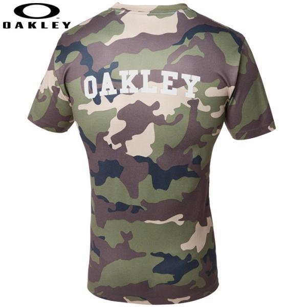 あすつく クリアランス 限定 OAKLEY オークリー ストレッチ Tシャツ カモフラ 3RD-G SS O-FIT TEE 1.7 457470JP oak18fwcl|baseman|04