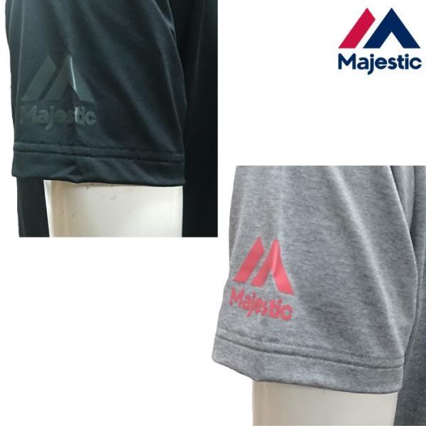 あすつく マジェスティック 野球用 半袖 Tシャツ 吸汗速乾 Authentic XM01-MAJ-0014 majtsale|baseman|04