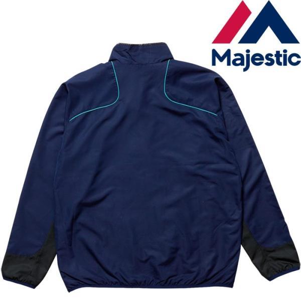 あすつく マジェスティック Majestic ウィンドジャケット 裏メッシュ XM23-MAJ-0016 maj17ss 1617sale|baseman|03