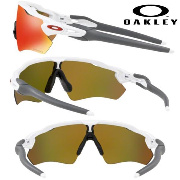 あすつく OAKLEY オークリー サングラス RADAR EV PATH(USサイズ) PRIZM RUBY POLISHED WHITE OO9208-7238 oak18fw|baseman|02