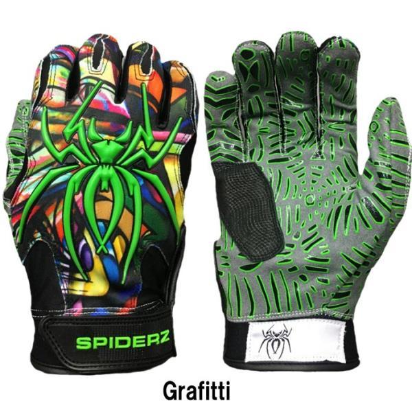 あすつく スパイダーズ 野球 バッティング手袋 バッティンググローブ 両手組 ハイブリッド SPIDERZ HYBRID spi18fw|baseman|03