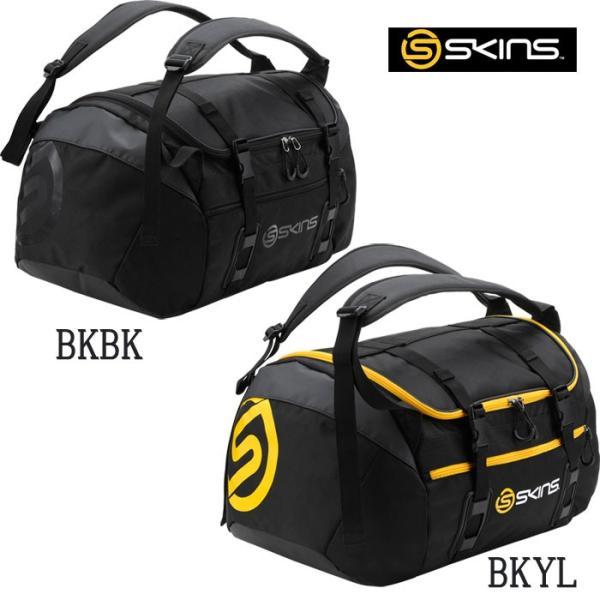 展示会限定 SKINS スキンズ 2WAY バッグ 中 45L デサント SRY7702 skin17fw|baseman