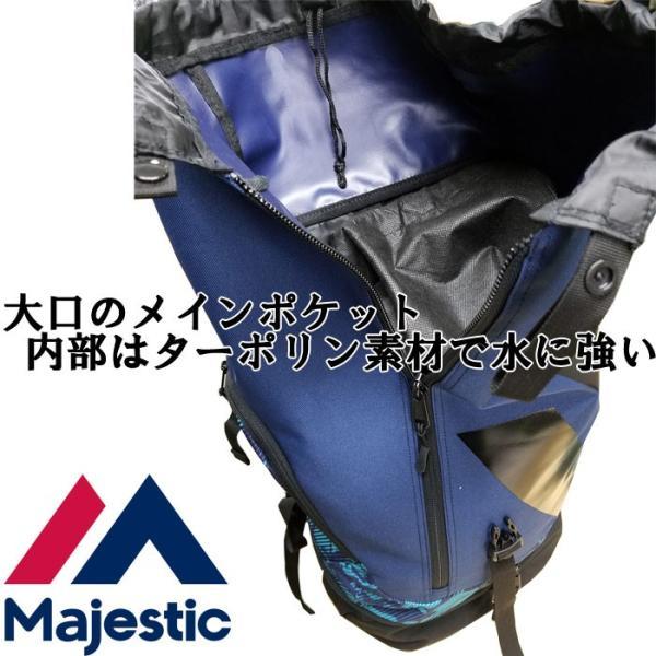 数量限定 マジェスティック Majestic バックパック レインカバー 耐水 XM13-MAJ-0002 maj17ss|baseman|06