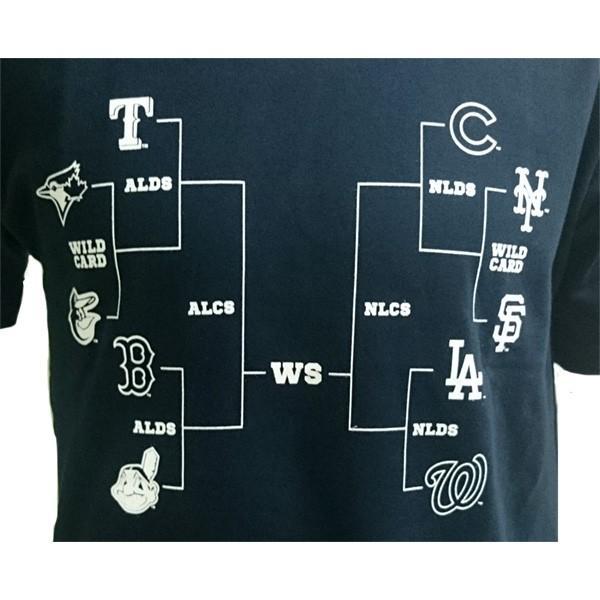 あすつく マジェスティック Tシャツ MLBポストシーズン出場球団ロゴ MM01-MLB-0291 1617sale|baseman|02