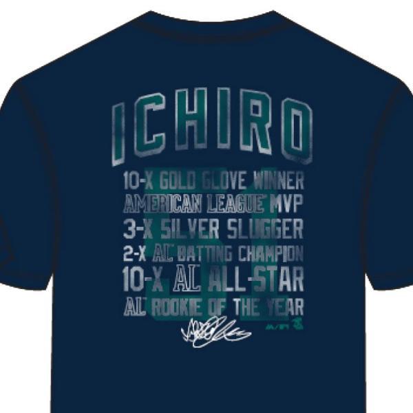 あすつく マジェスティック イチロー引退記念 Tシャツ マリナーズ 51 綿100% SEA MLB MM01-SM-901 maj19ss baseman 08
