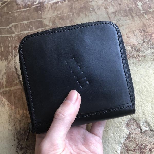 イタリア グイディ(GUIDI)社製フィオーレカーフのラウンドファスナーレザー二つ折り財布/ウォレット|bashamichi-imai|10