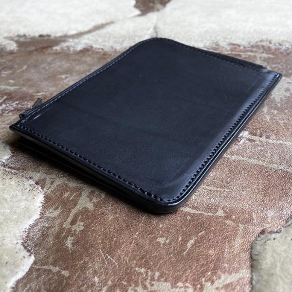 イタリア グイディ(GUIDI)社製フィオーレカーフのレザー小型L字ファスナー財布/ウォレット bashamichi-imai 05