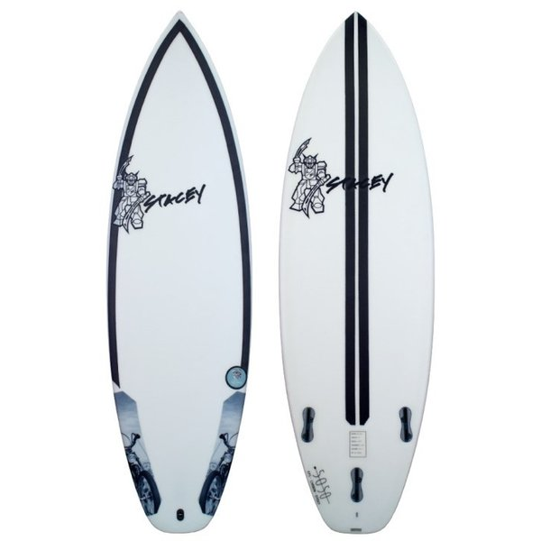 STACEY SURFBOARDS FLAT HEAD 5'7