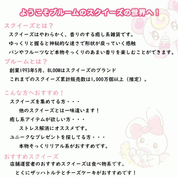 ブルーム スクイーズ マシュロ プリンセスショートケーキ レインボー|basicbag|05
