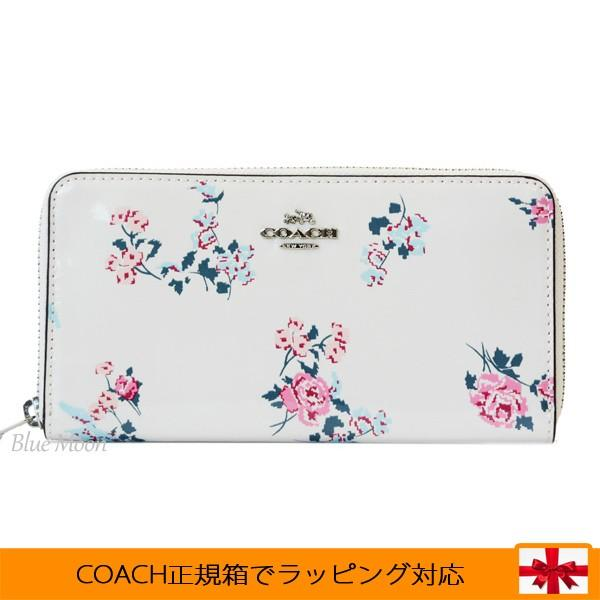 newest 7d6b1 cdc96 コーチ COACH 長財布 レディース ラウンドファスナー 花柄 ...