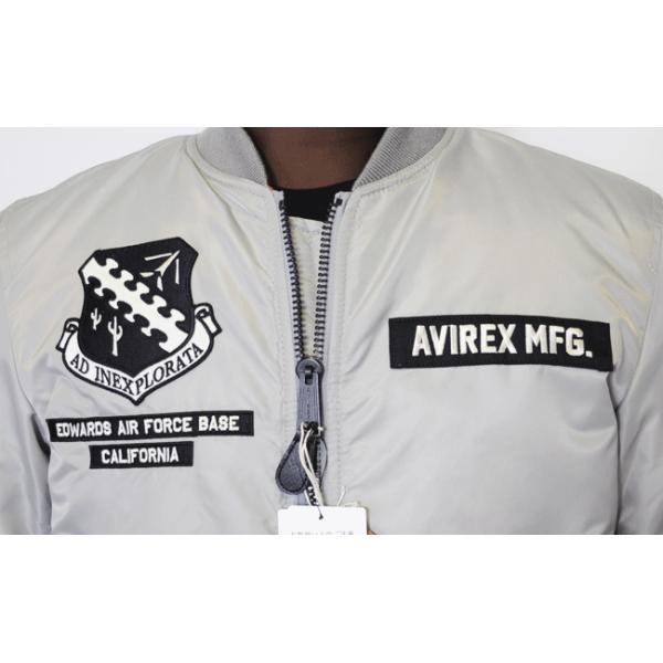 AVIREX アビレックス アヴィレックス 6182185 MA-1 X-15 メンズ ma-1 avirex 正規販売店 送料無料 basis-pjl 08