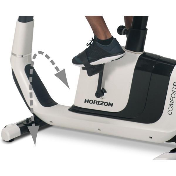 コンフォートスリー フィットネスバイク 送料・組立費込み価格 ホライズンフィットネス COMFORT 3 代引不可 有酸素運動 リハビリ フィットネス basket-exceed 08
