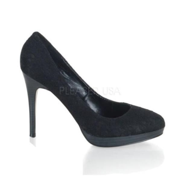 BLISS-30-2 4.25インチ(約11cm) ハイヒール パンプス /Pleaserプリーザー レトロな靴 パーティー シンデレラサイズ 大きい