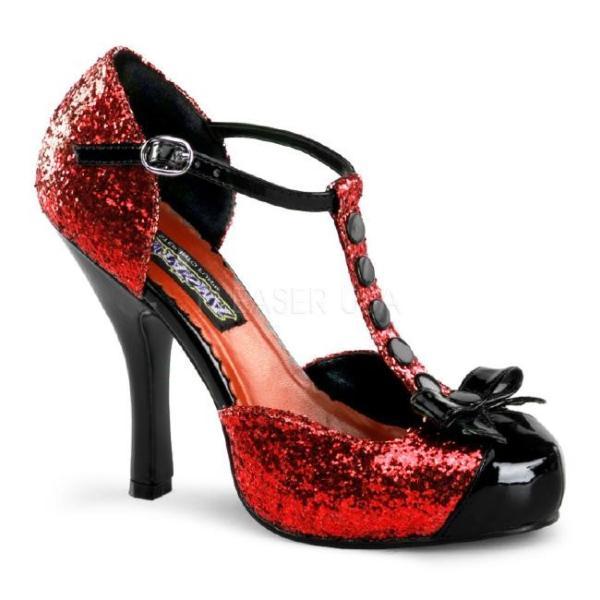 FESTIVE-10G パンプス 4.5インチ(約11.5cm) ハイヒール  /Pleaserプリーザー コスプレ靴 ハロウィン 仮装 大きい