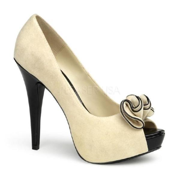 LOLITA-10 5.25インチ(約13cm) ハイヒール パンプス /Pleaserプリーザー レトロな靴 パーティー シンデレラサイズ 大きい