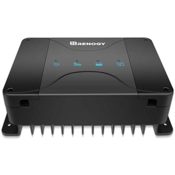 RenogyDCC走行充電器12V50Aソーラー充電MPPTチャージコントローラー内蔵/アイソレータサブバッテリー同時充電人気