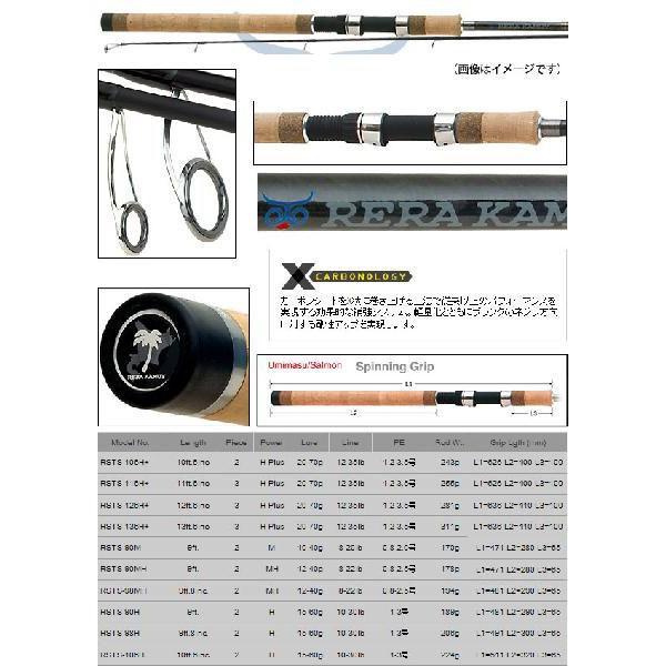 ●パームス レラカムイ RSTS-126H+ (サーモン/鮭) 3ピース(スピニングモデル)