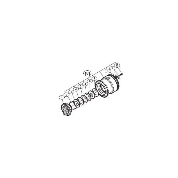 ●シマノ 11バイオマスター C3000SDH(02756)用 純正標準スプール (パーツ品番105) 【キャンセル及び返品不可商品】 【まとめ送料割】