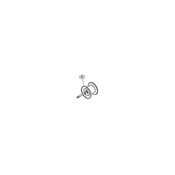 ●シマノ 15 メタニウムDC (左) (03377)用 純正標準スプール (パーツ品番105) 【キャンセル及び返品不可商品】 【まとめ送料割】