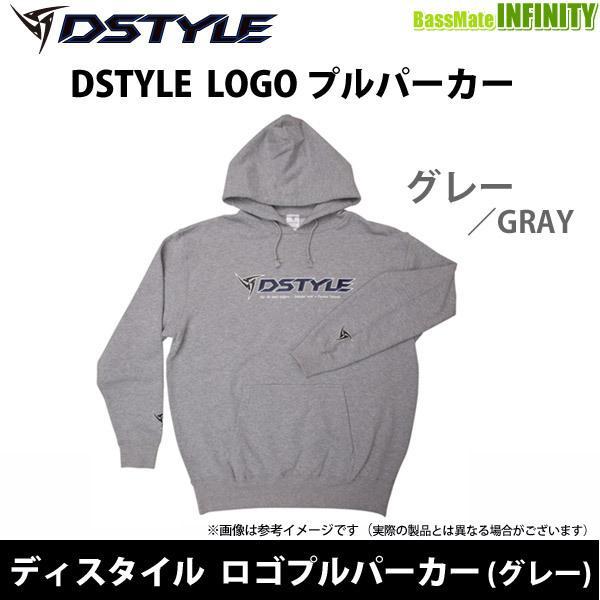 【在庫限定5%OFF】ディスタイル DSTYLE ロゴプルパーカー (グレー) 【まとめ送料割】【bs14】【ba2021】