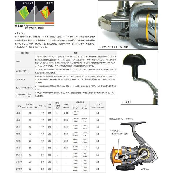 ●ダイワ 17 ワールドスピン CF 3000 スピニングリール 【まとめ送料割】