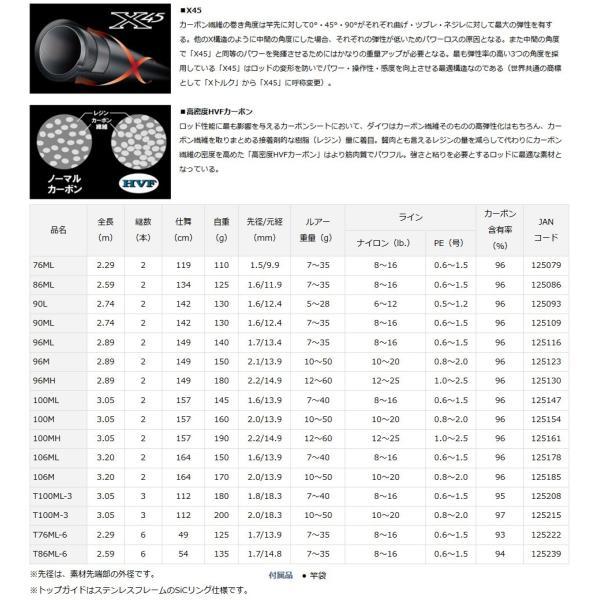 ●ダイワ レイジー 90L (2ピース スピニングモデル)