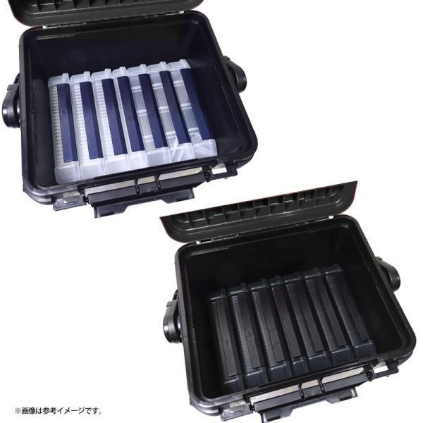 ●明邦 バーサス ランガンシステム VS-7080 ブラック+ルアーケース3010ND(3個)・NDM(3個)・NS(1個)+ロッドスタンド BM-250ライト×2個一式セット