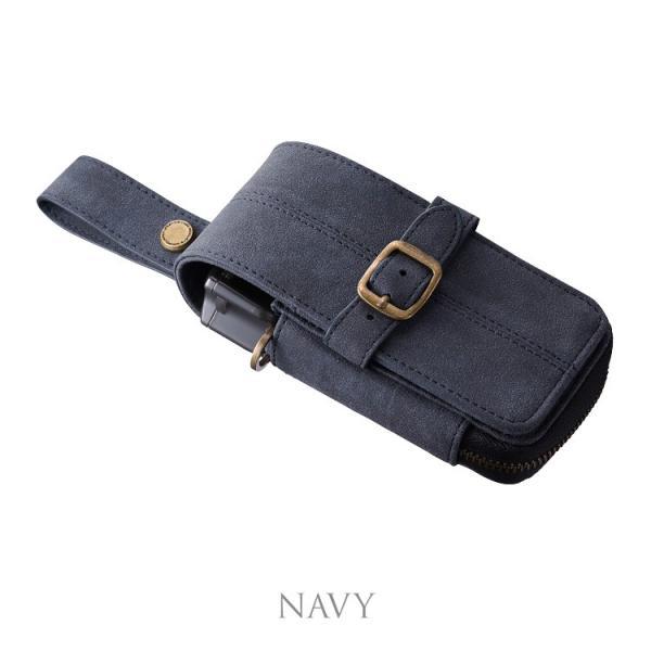 CAMEO NUBUK NAVY(カメオ ダーツケース ヌバック)【nubuk】|batdarts