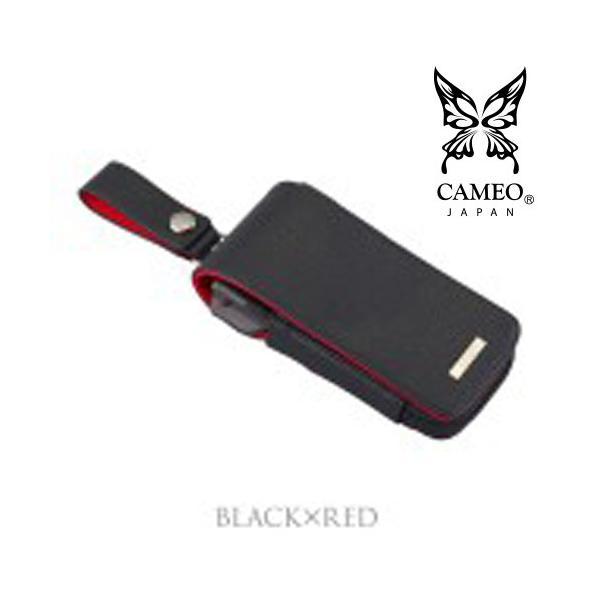 CAMEO SKINNY2 Black-Red DARTSCASE(カメオダーツケース スキニー ブラック・レッド)【skinny】|batdarts